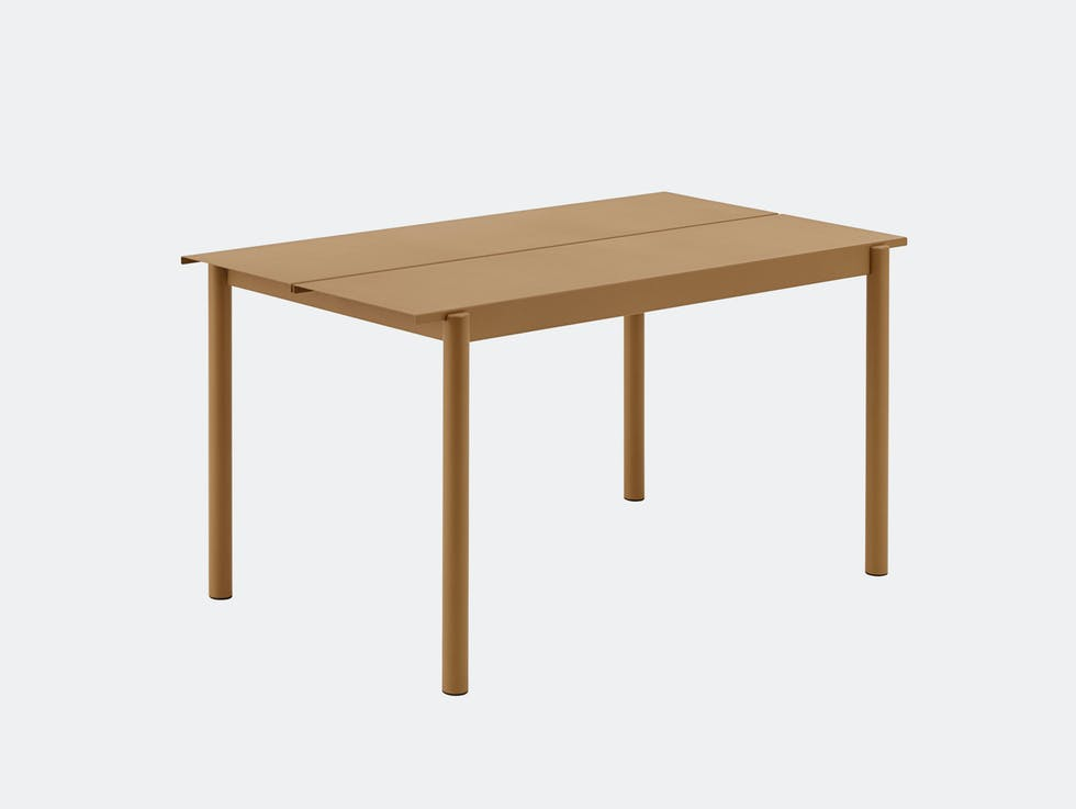 Linear Steel Outdoor Table image