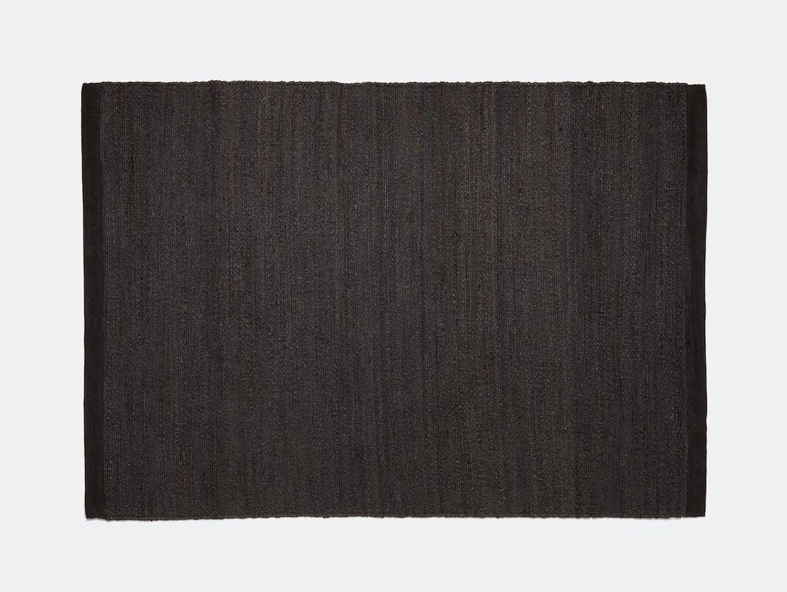 Nanimarquina Herb Rug Black