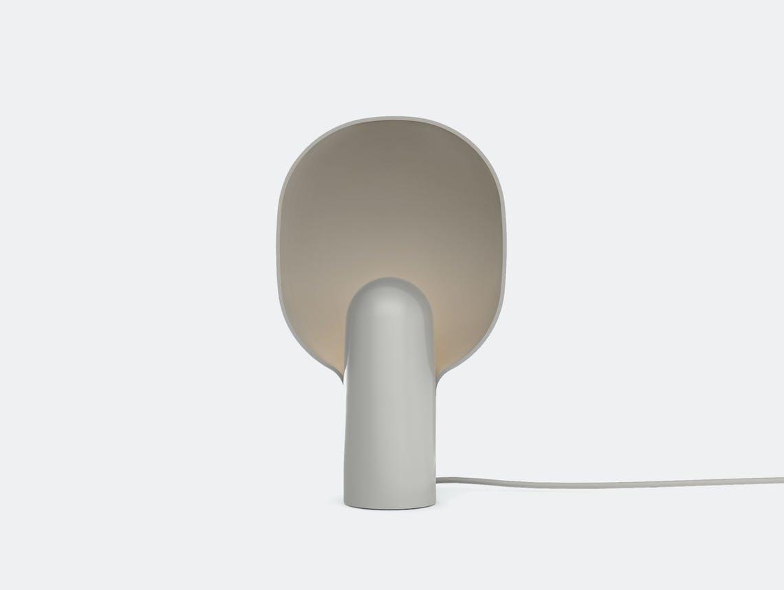 New Works Copenhagen Ware Table Lamp Mole Grey Msds Studio