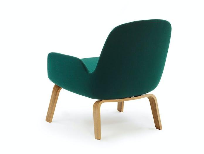 Normann Copenhagen Era Low Lounge Chair Back Simon Legald