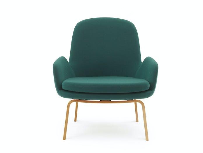 Normann Copenhagen Era Low Lounge Chair Front Simon Legald