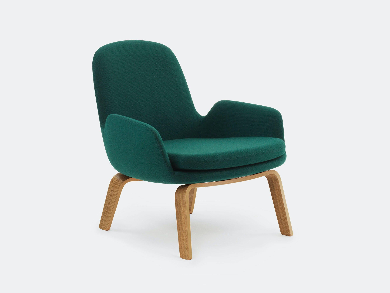 Normann Copenhagen Era Low Lounge Chair Oak Base Simon Legald