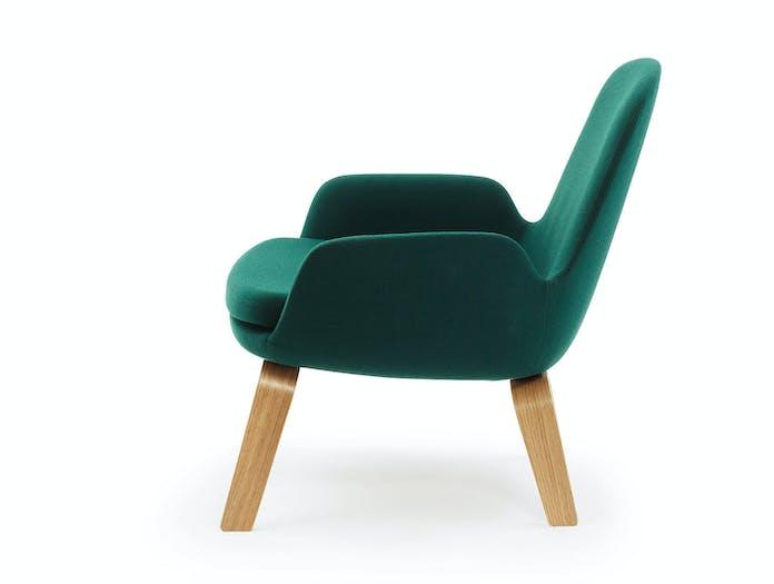 Normann Copenhagen Era Low Lounge Chair Side Simon Legald