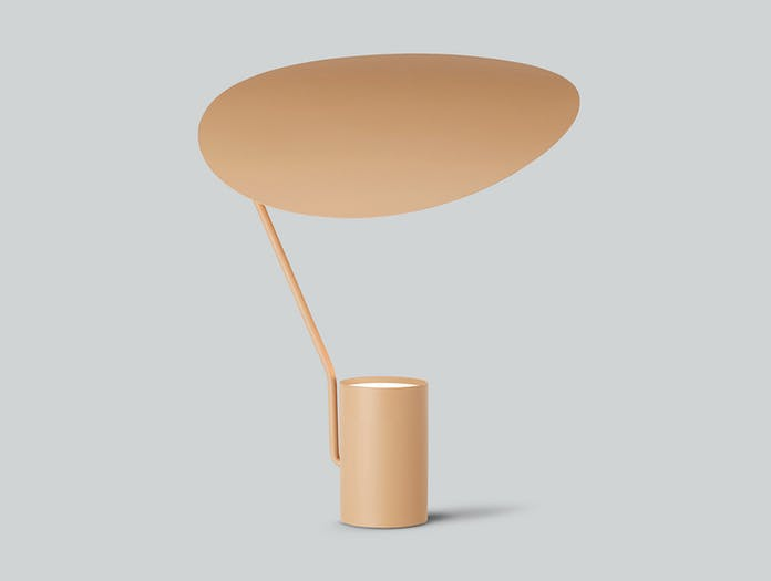 Northern Ombre Table Lamp Warm Beige G Antoine Rouzeau