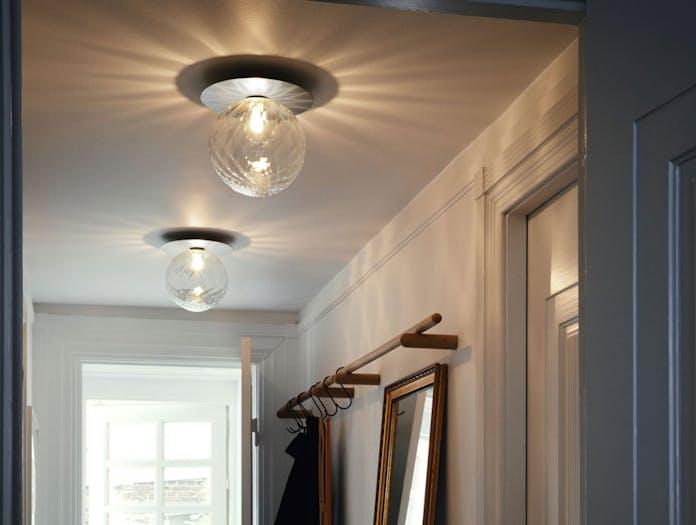 Nuura Liila 1 Ceiling Light Optic Silver Large Sofie Refer