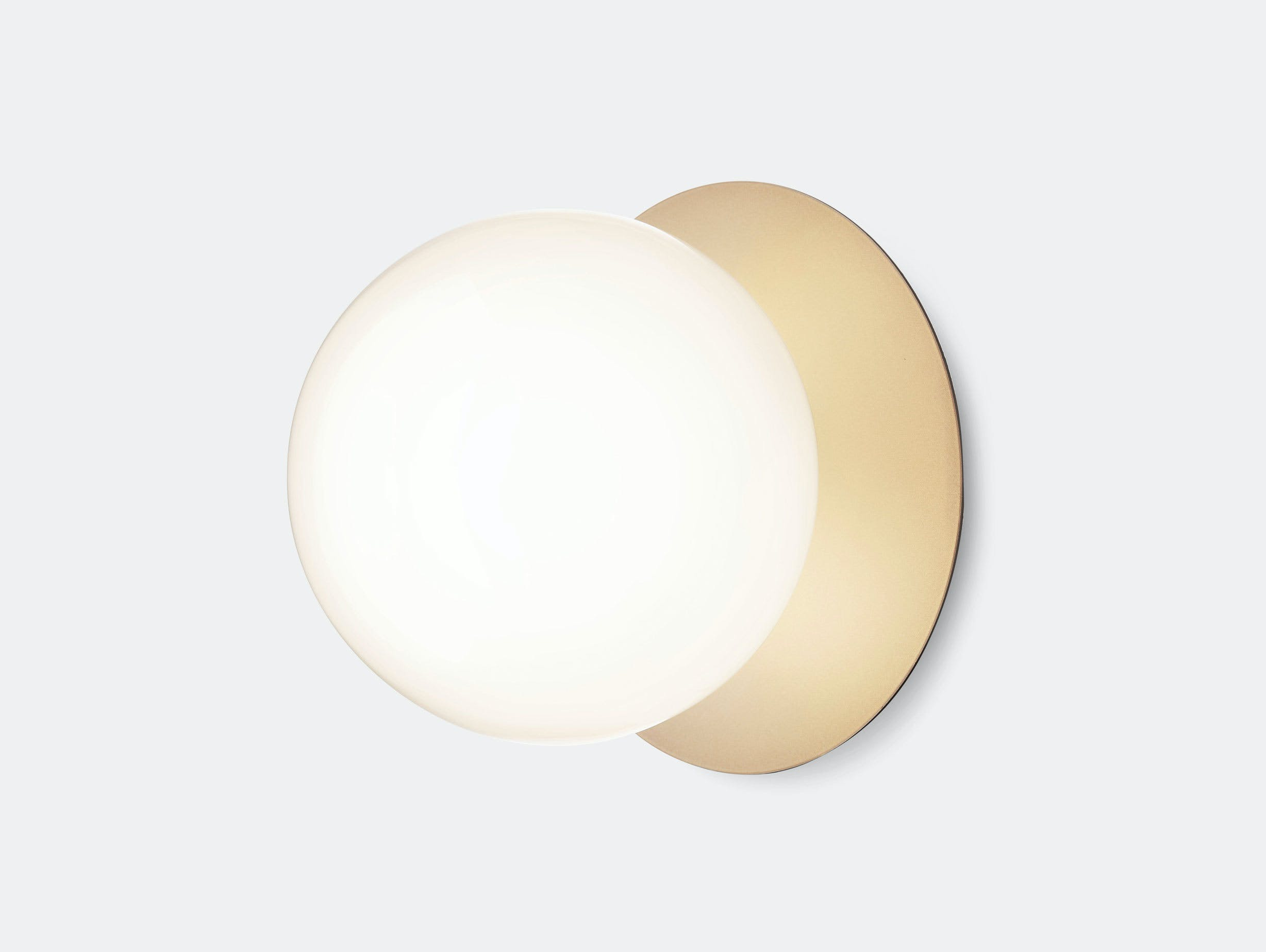 Nuura Liila 1 Wall Ceiling Light Opal Gold Large Sofie Refer