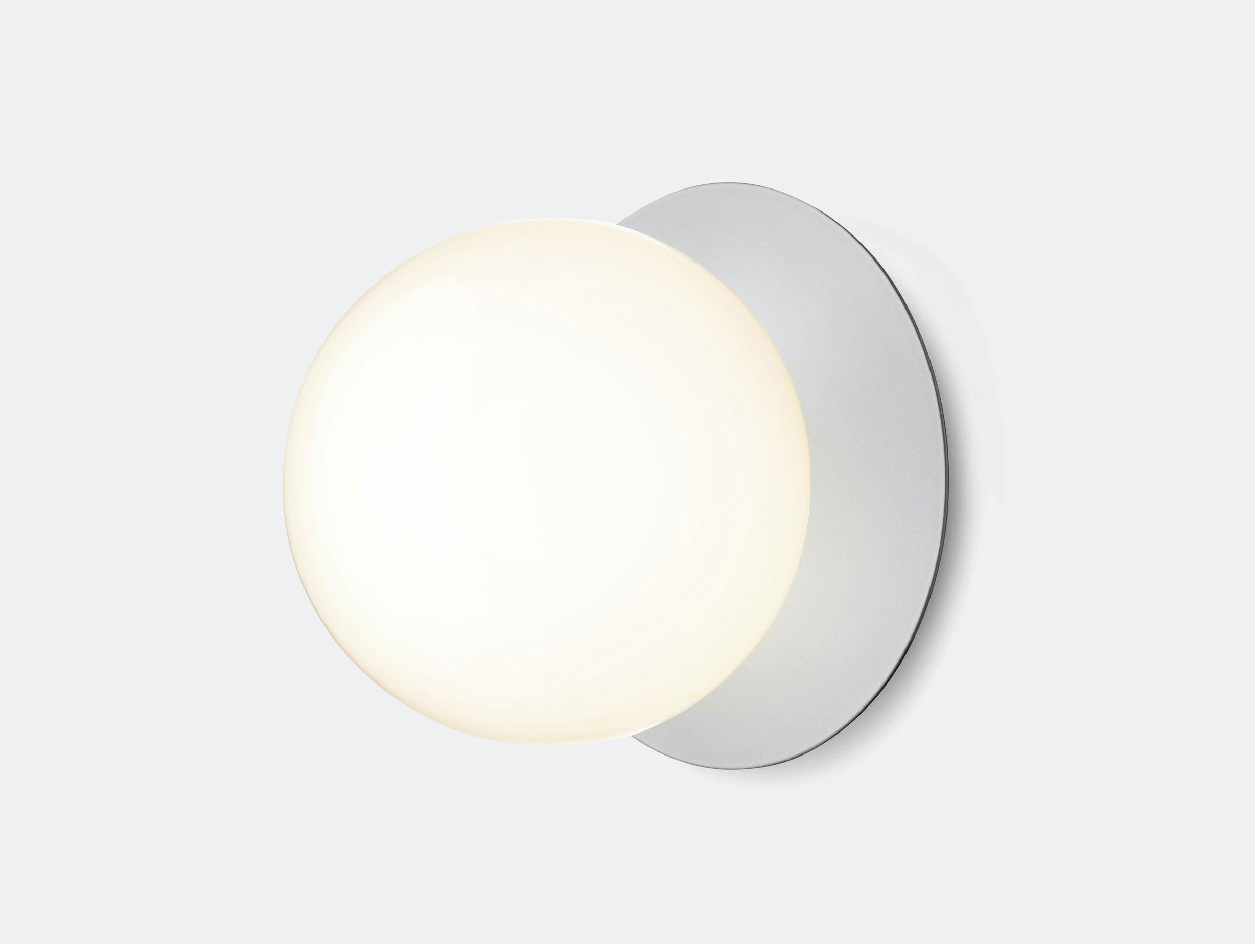 Nuura Liila 1 Wall Ceiling Light Opal Silver Large Sofie Refer