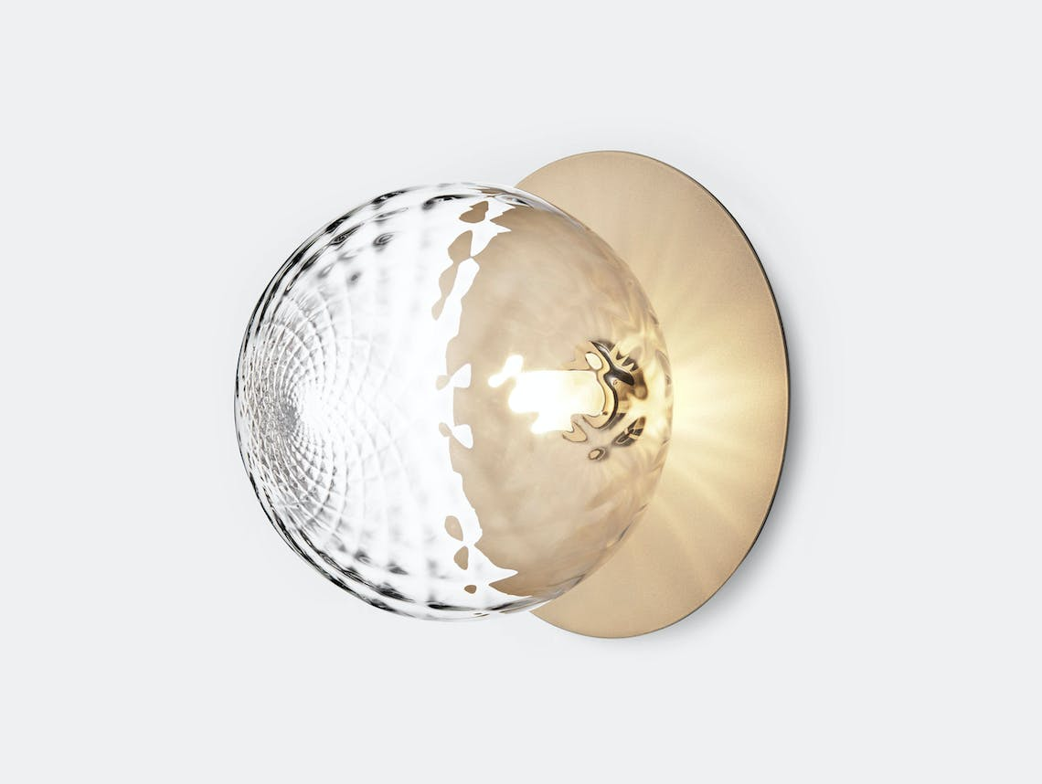 Nuura Liila 1 Wall Ceiling Light Optic Gold Large Sofie Refer