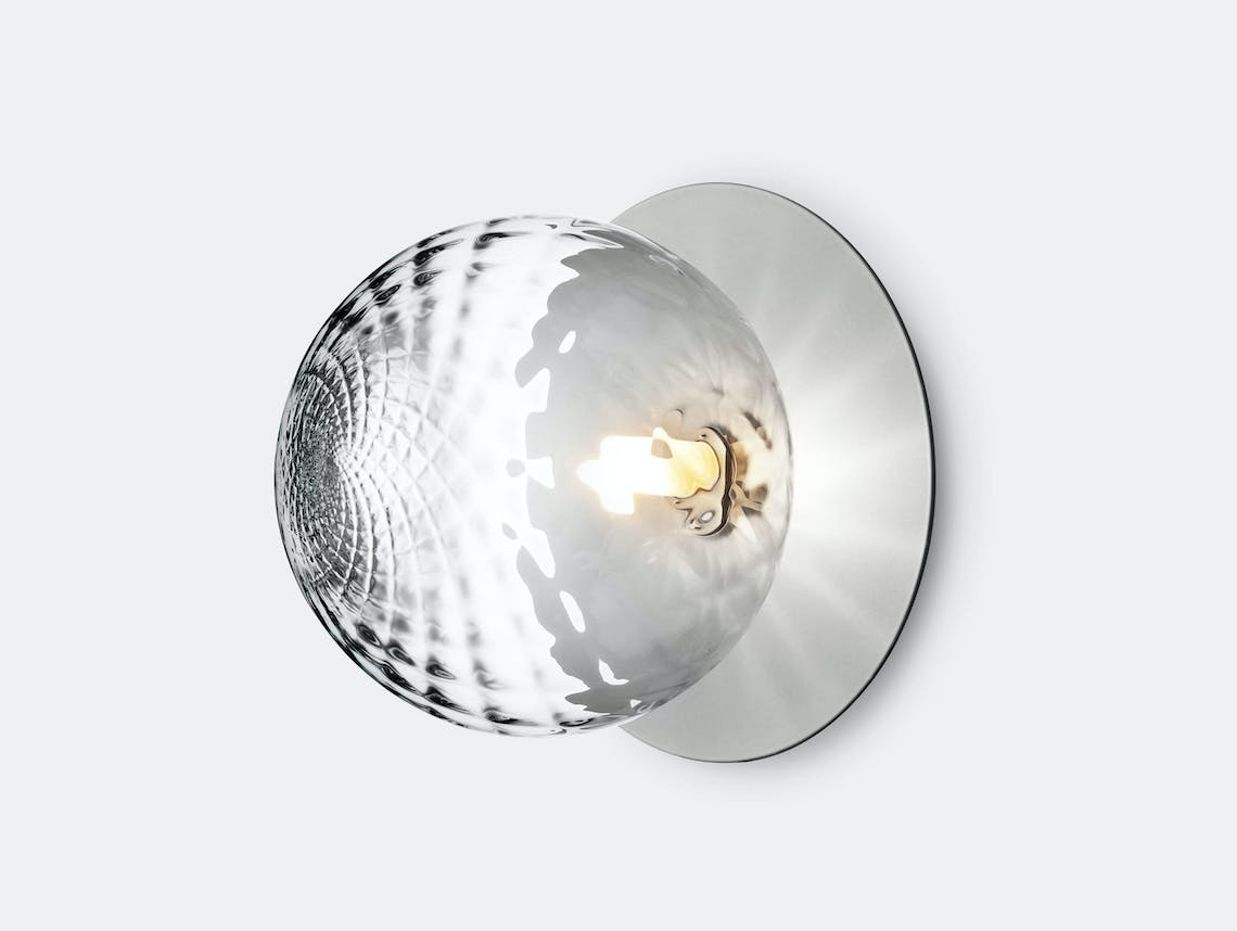 Nuura Liila 1 Wall Ceiling Light Optic Silver Large Sofie Refer