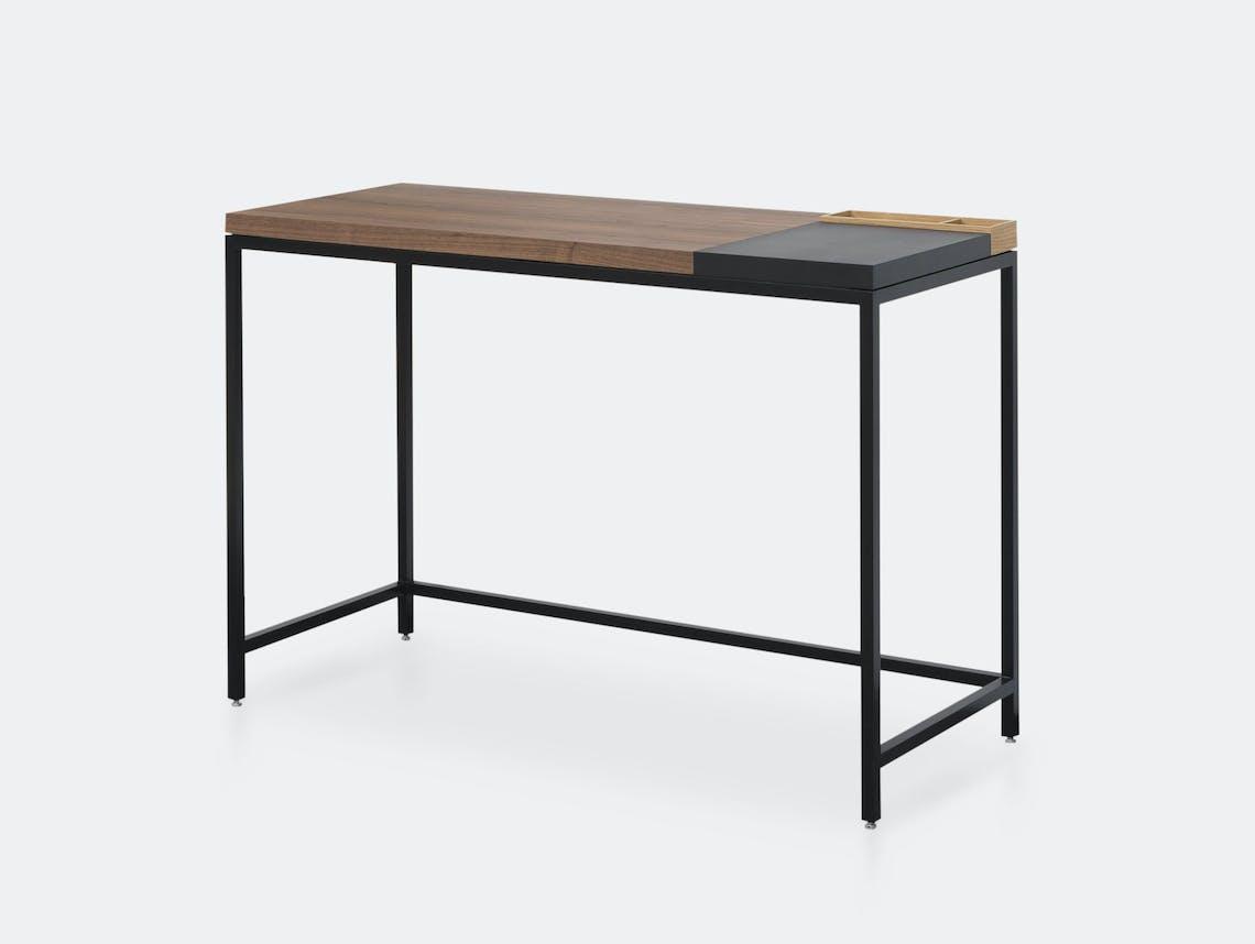 Pastoe Plato Walnut Desk With Pen Tray X02