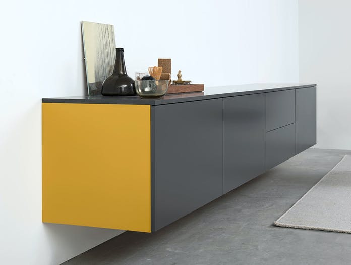 Pastoe Pure Sideboard Wall Mounted Detail