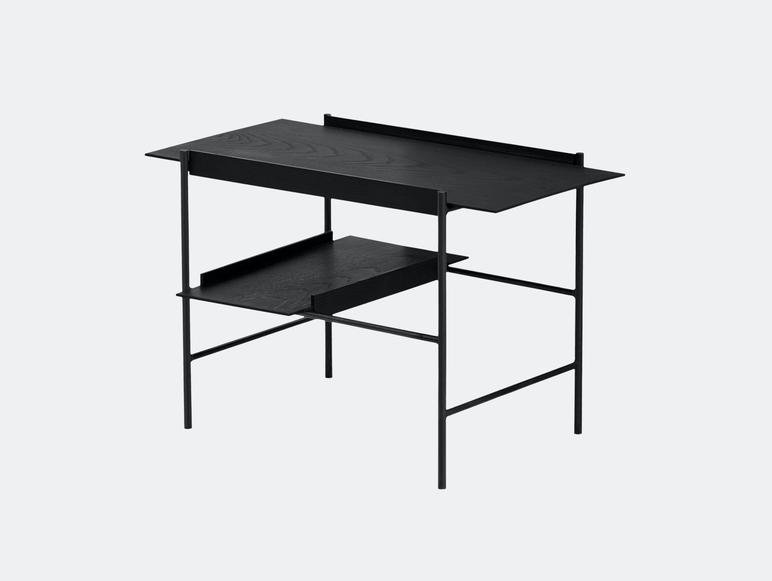 Please Wait To Be Seated Kanso Tray Table Black Laura Bilde