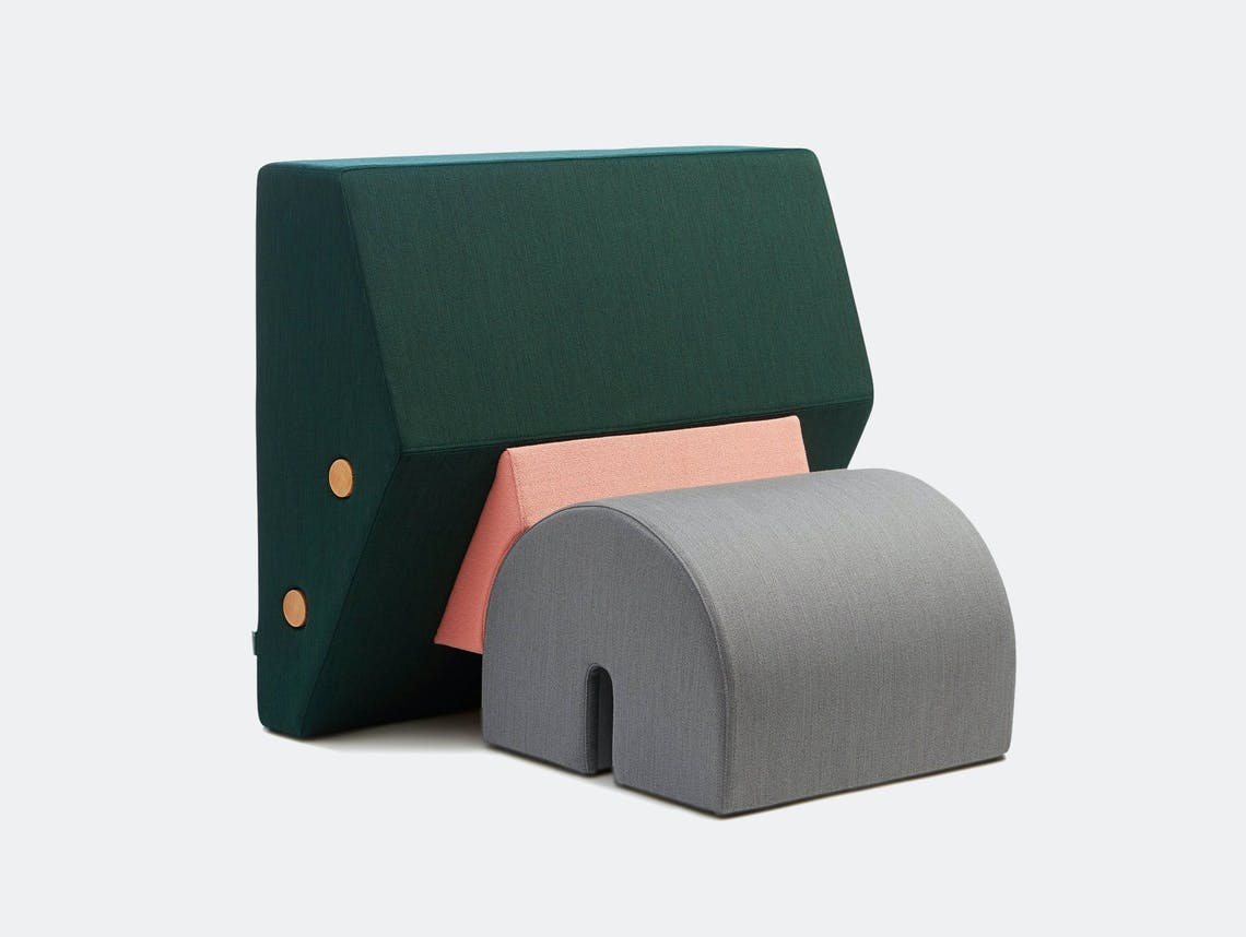 Please Wait To Be Seated Keystone Chair Green Pink Grey Os Oos