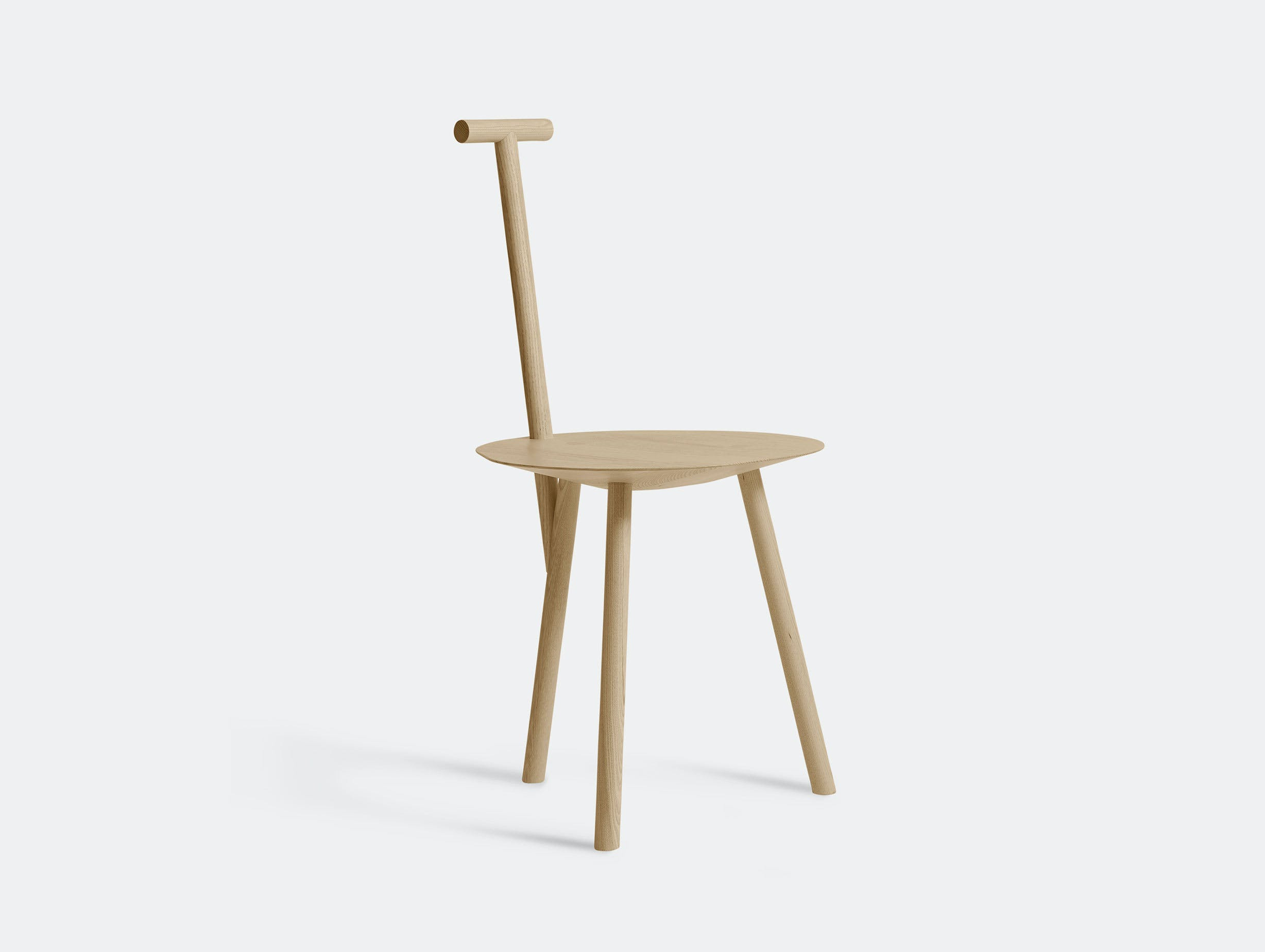 Please Wait To Be Seated Spade Chair Ash Faye Toogood