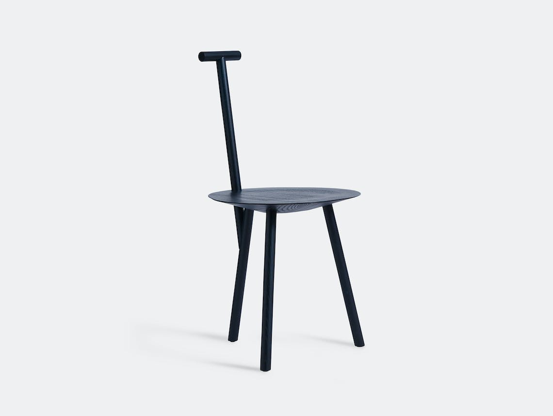 Please Wait To Be Seated Spade Chair Blue Faye Toogood