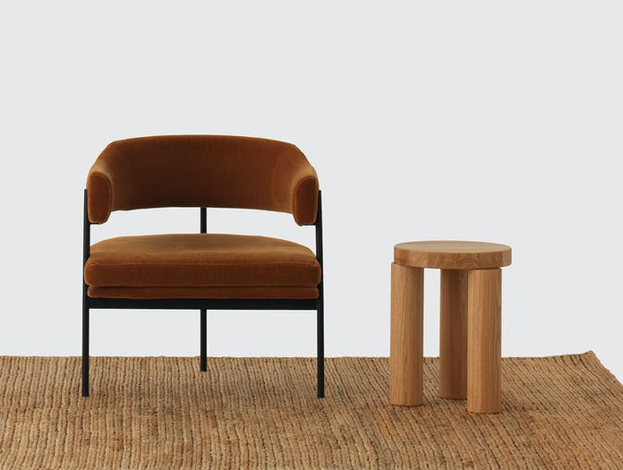 Resident Isabella Chair Offset Stool