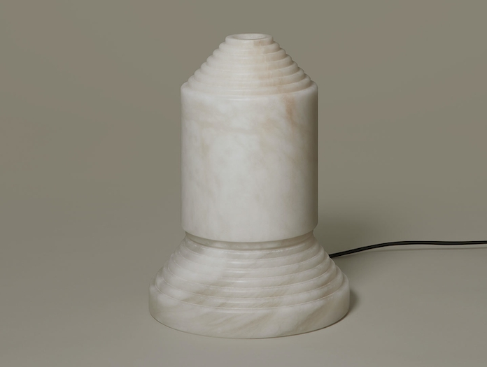 Santa And Cole Babel Table Lamp Alabaster Off Angel Jove