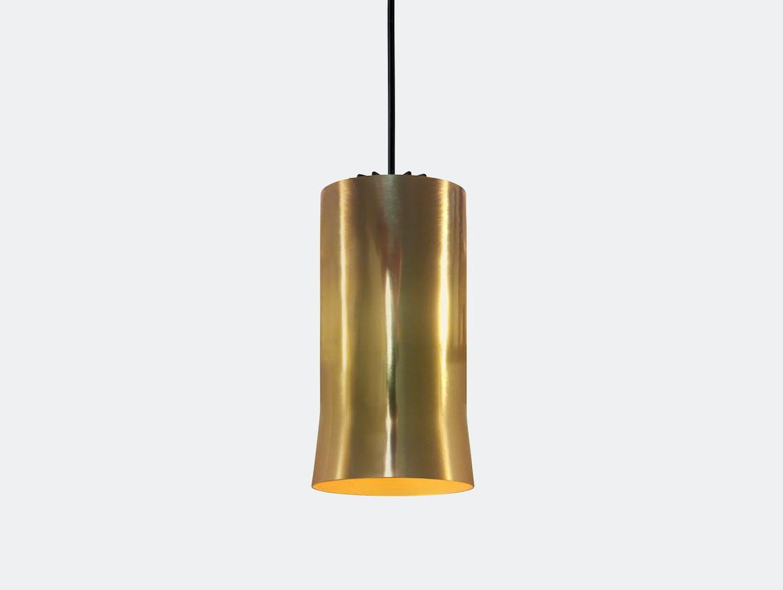 Santa And Cole Cirio Simple Pendant Light Brass Antoni Arola