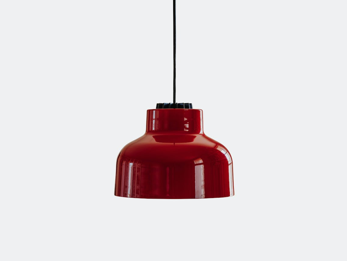 Santa And Cole M64 Pendant Light Red Miguel Mila