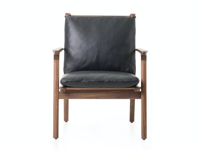 Stellar Works Ren Lounge Chair Front Space Copenhagen
