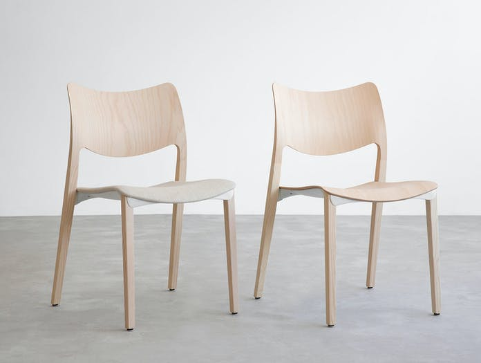 Stua Laclasica Chair Upholstered Seat Jesus Gasca