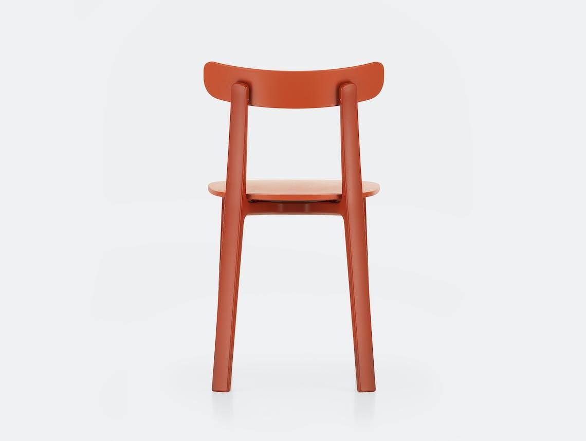 Vitra All Plastic Chair APC Morrison Brick