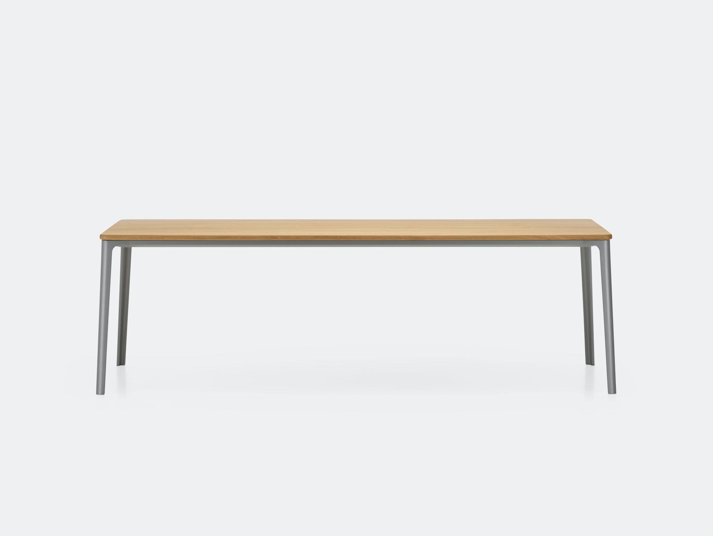 Vitra Plate Dining Table Oak Grey Frame Jasper Morrison