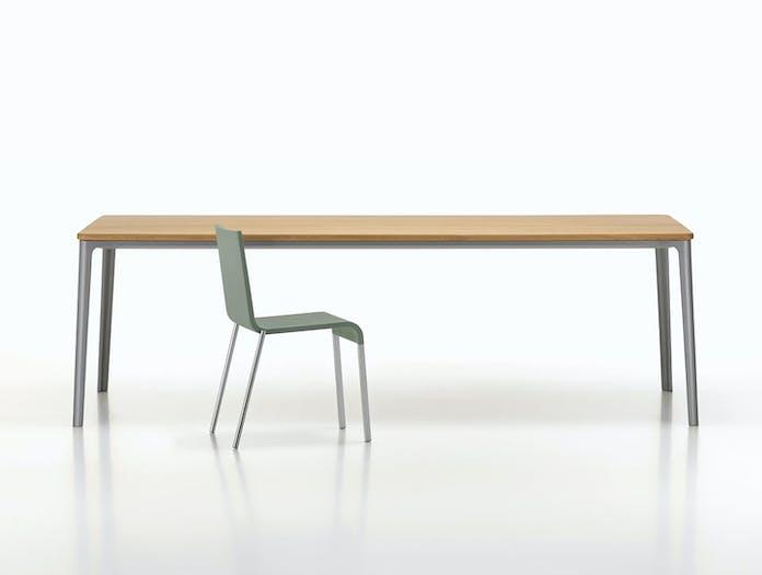 Vitra Plate Dining Table Oak Top Grey Frame 03 Jasper Morrison