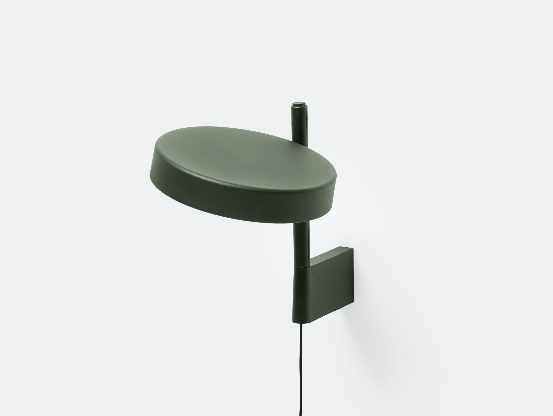 Wastberg W182 Pastille Wall Lamp Short Green Sam Hecht Kim Colin