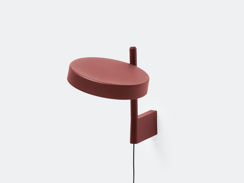 Wastberg W182 Pastille Wall Lamp Short Red Sam Hecht Kim Colin
