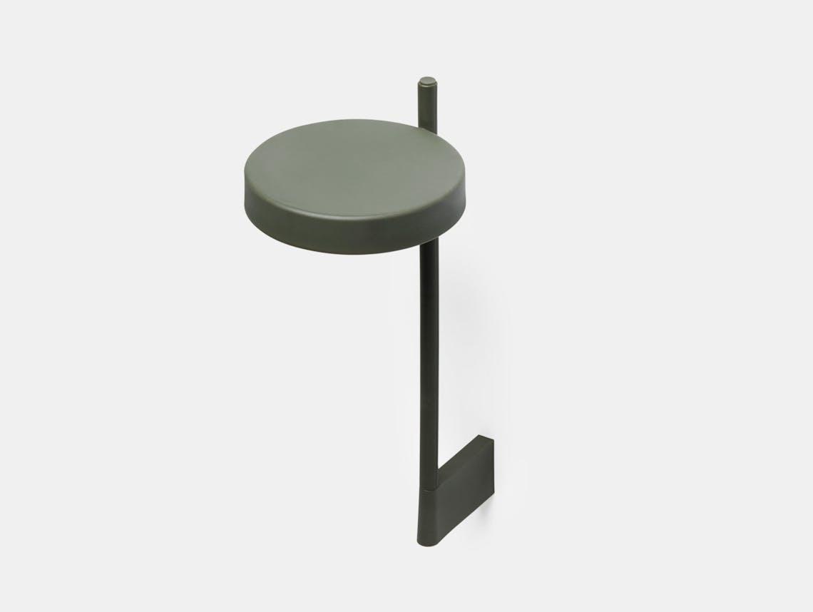 Wastberg W182 Pastille Wall Lamp Tall Green Sam Hecht Kim Colin