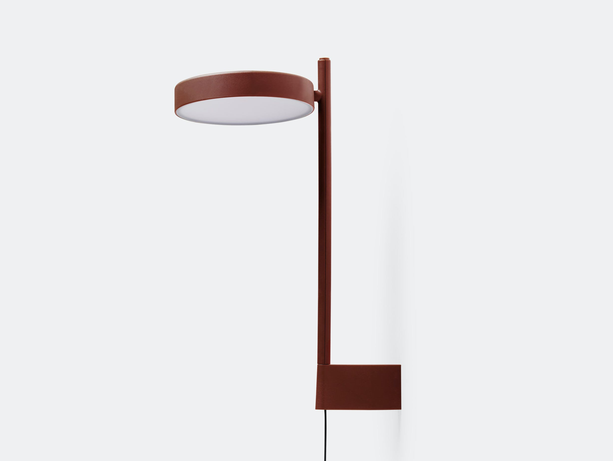 Wastberg W182 Pastille Wall Lamp Tall Red Sam Hecht Kim Colin