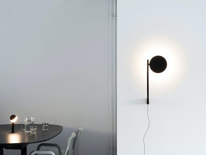 Wastberg W182 Pastille Wall Light Black