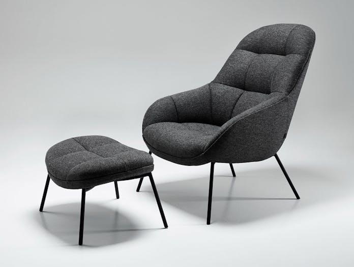 Won Mango Lounge Chair Footstool Note Design Studio