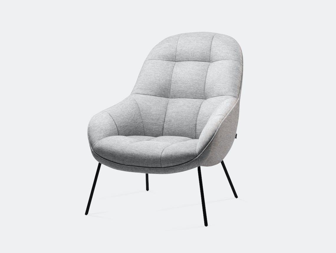 Won Mango Lounge Chair Light Grey Note Design Studio