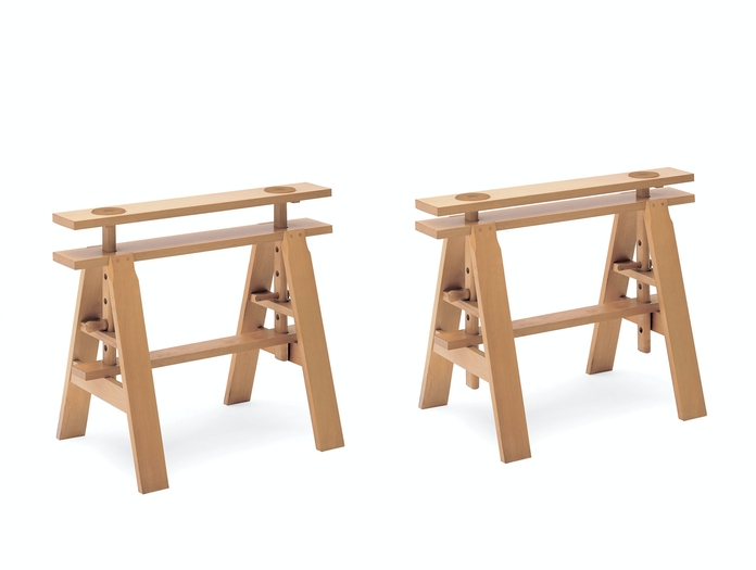 Zanotta Leonardo Table Trestles Achille Castiglioni