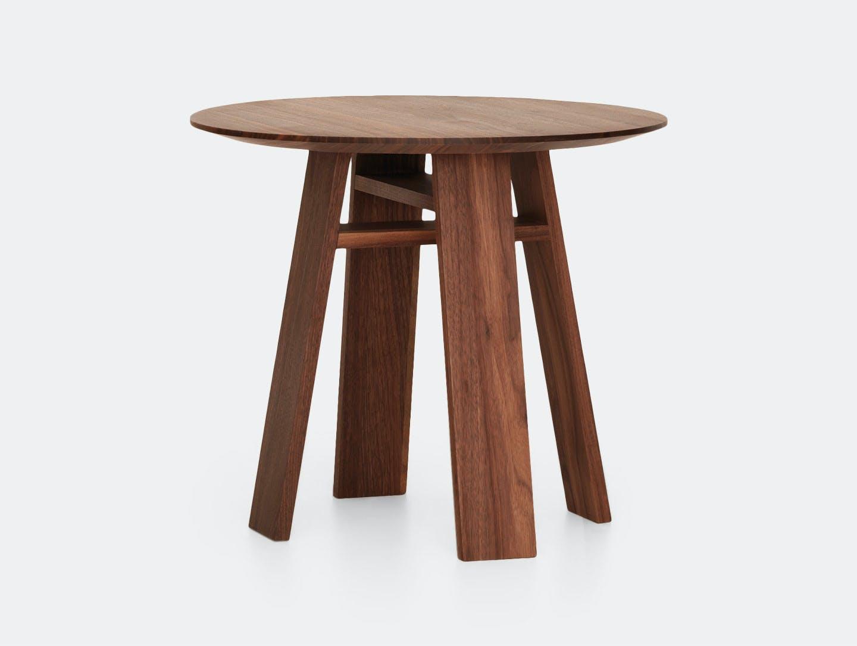 Zeitraum Bondt Side Table M Walnut Merit Frank Nana Groner