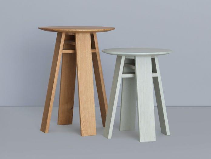 Zeitraum Bondt Side Table Oak Colour Merit Frank Nana Groner