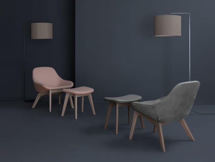 Zeitraum Morph Lounge Chairs 2 Formstelle