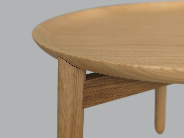 Zeitraum Plaisir Table Oak Detail Formstelle