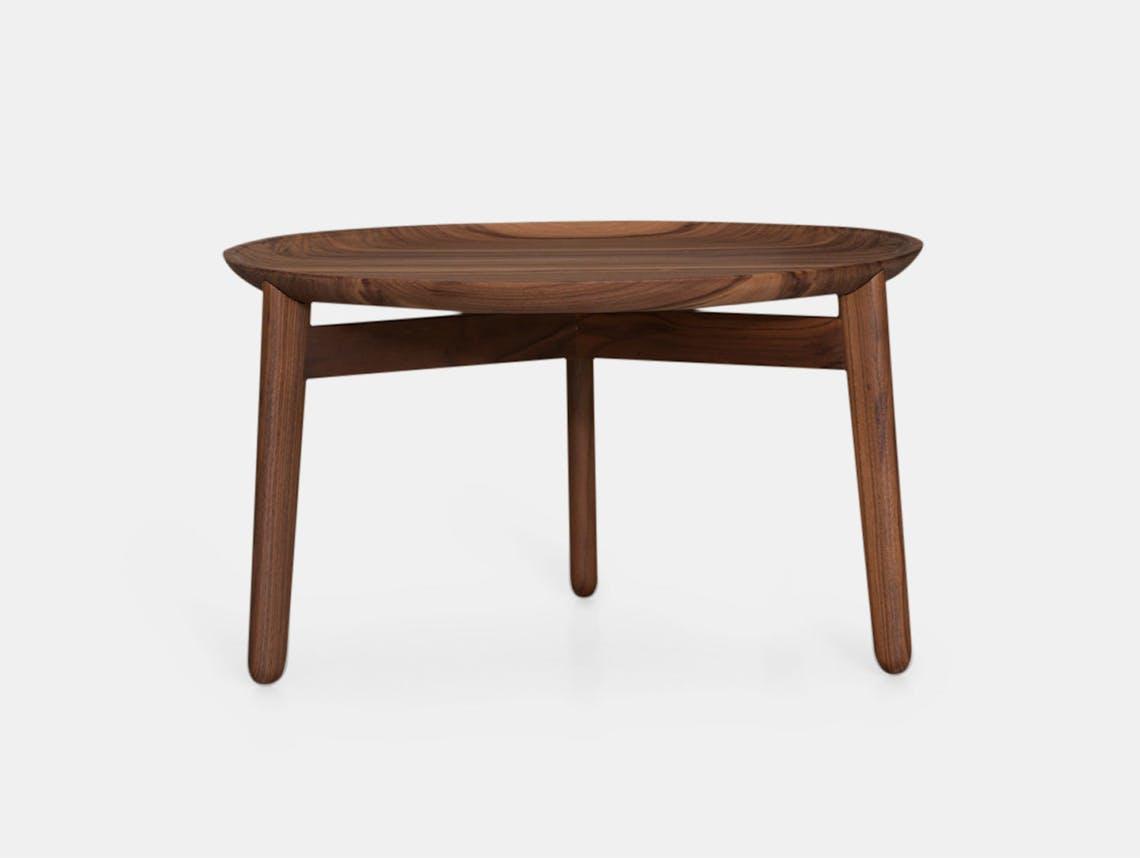 Zeitraum Plaisir Table Walnut Dia54 H32 Formstelle