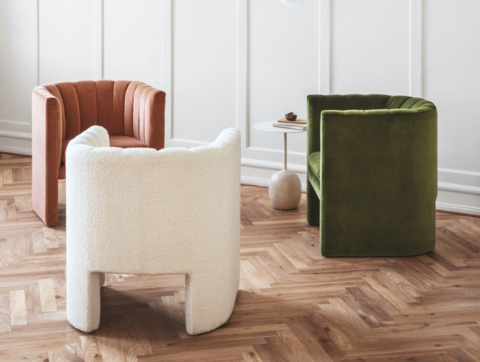 Andtradition Loafer Lounge Chairs