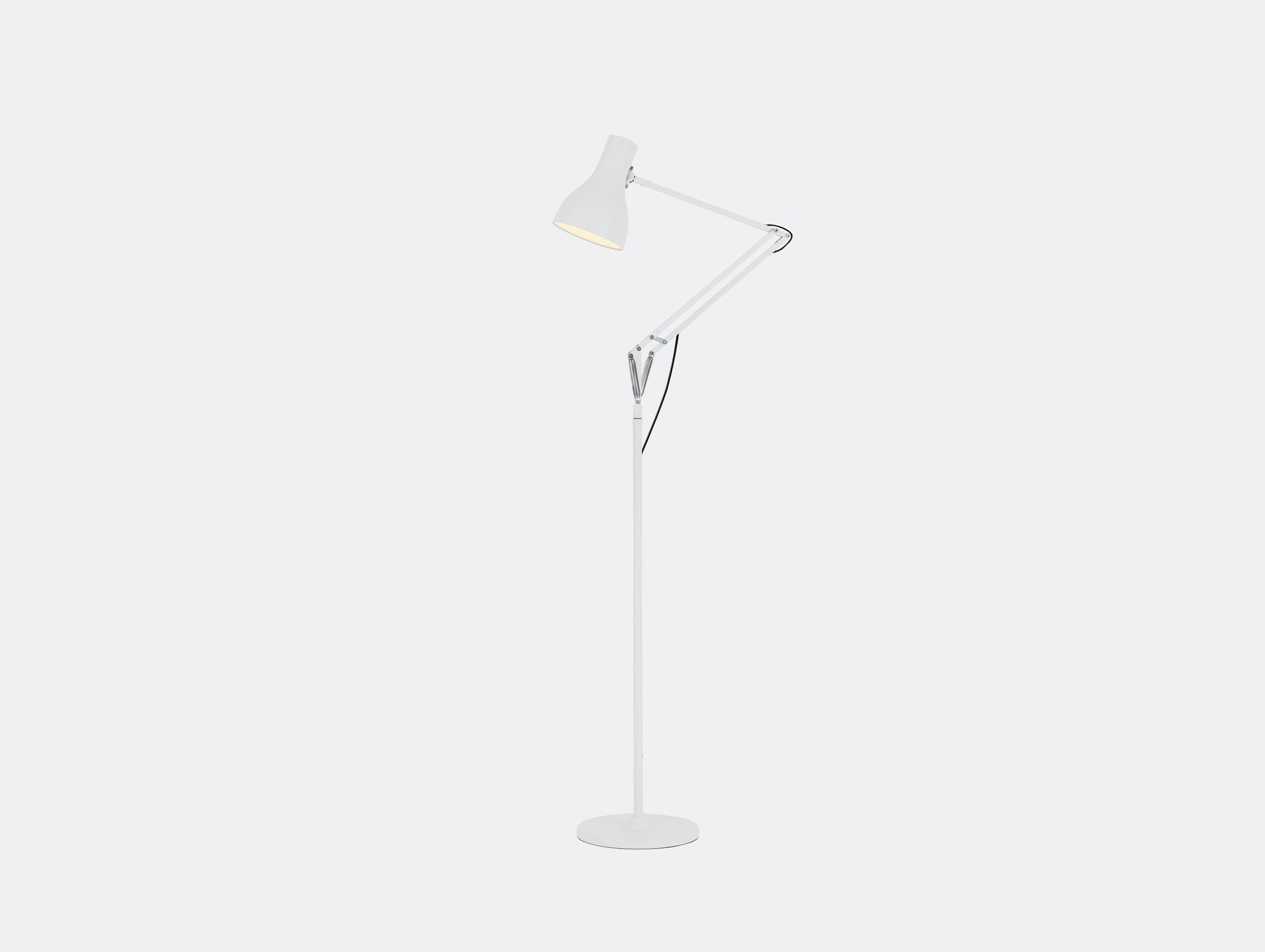 Anglepoise Type 75 Floor Lamp Alpine White