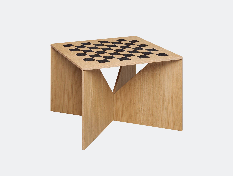 E15 Calvert Chess Coffee Table Oak Philipp Mainzer