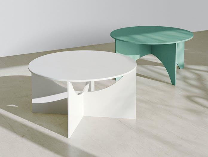 E15 Charlotte Coffee Tables Ferdinand Kramer