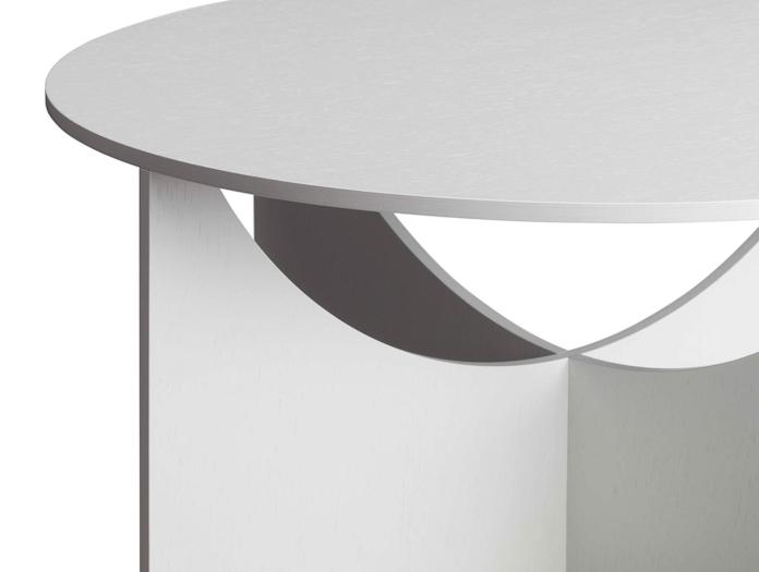 E15 Charlotte Table Detail Ferdinand Kramer