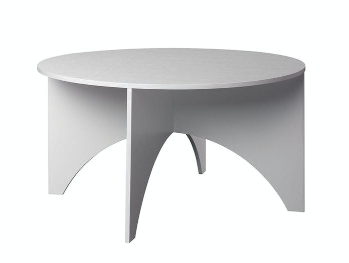 E15 Charlotte Table White W Ferdinand Kramer