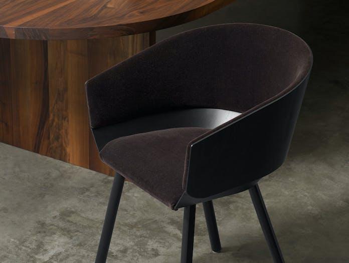 E15 Houdini Armchair Upholstered Stefan Diez