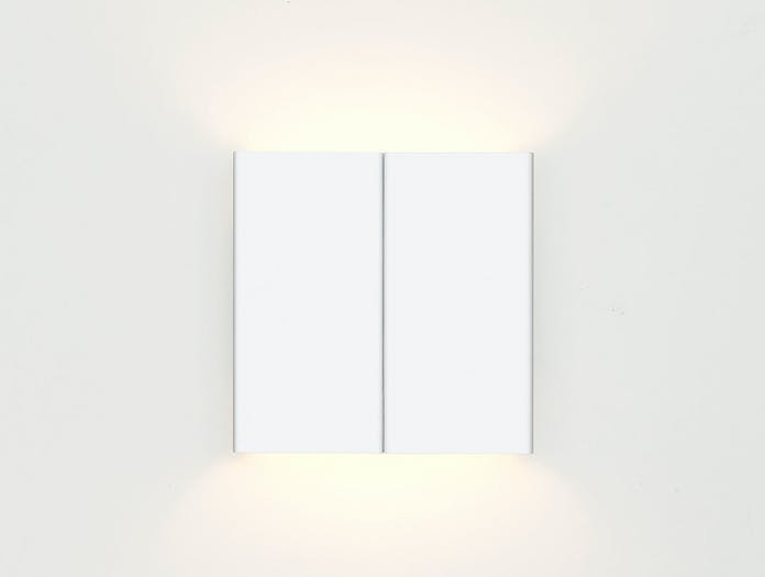 E15 Lt03 Seam Three Wall Light White