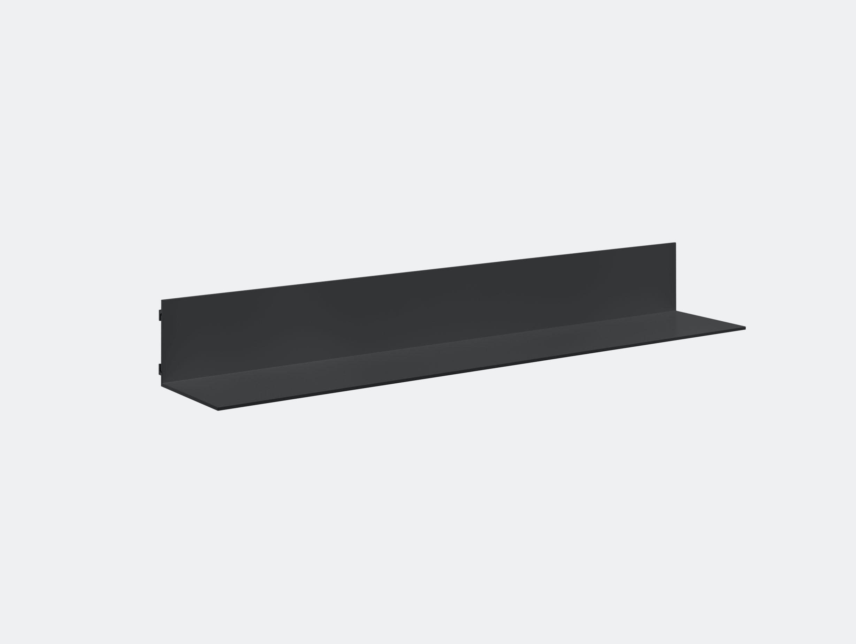 E15 Profil Shelf Black 100 Jorg Schellmann